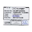 Аккумулятор для Novatel MiFi2200 1250 mAh