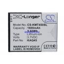 Аккумулятор KAZAM KAQ45, KAQ45-CYFAL022089 1600 mAh