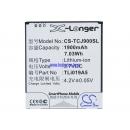 Аккумулятор для TCL J900T 1900 mAh