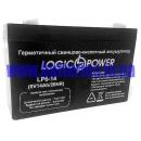 Аккумулятор LogicPower LP6-14AH 6V 14AH